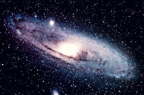 The Andromeda Galaxy - just one out of the hundreds of billions of galaxies out there.