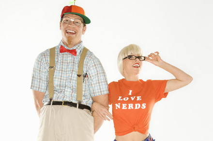 Nerdy Couple
