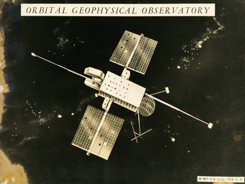 Orbital Geophysical Observatory Satellite Conceptual Drawing