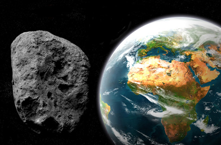 Asteroid Coming Close on Monday