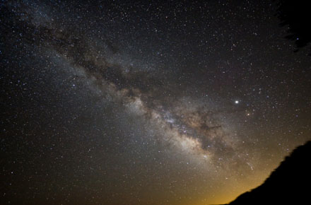 Supercomputers Show Milky Way Formation