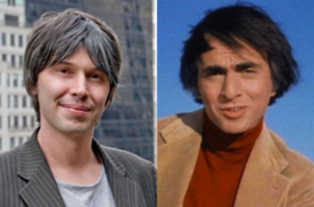 Brian Cox is Carl Sagan
