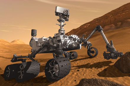 The Curiousity Mars Rover Launched Today