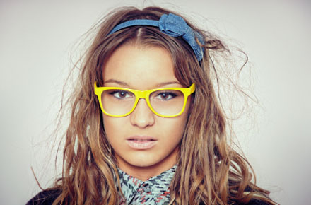 Become a Nerd with Geeky Glasses