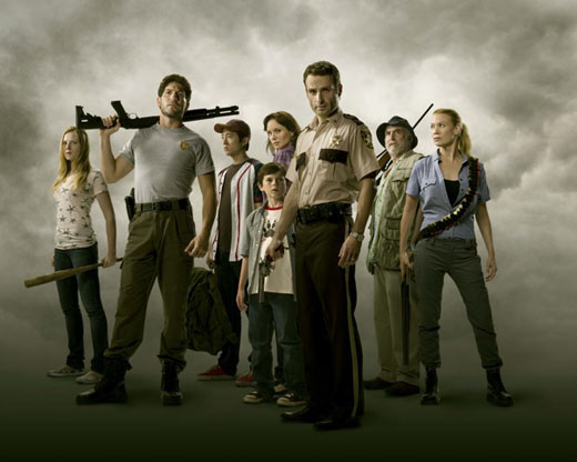 Cast photo for The Walking Dead