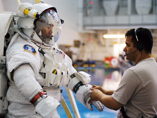 EMU Space Suit Testing