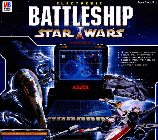 Star Wars Battleship Board Game